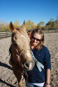Brandi and horse